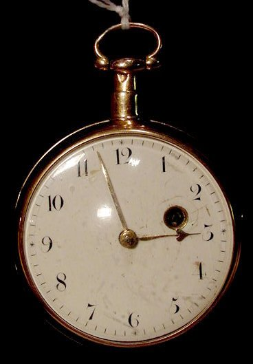 525: Litherland Liverpool 18k Gold Fusee Pocket Watch