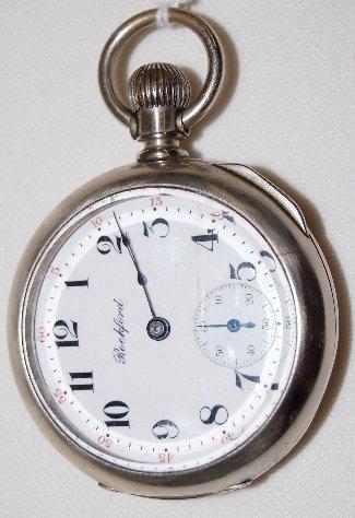 1: R W Co. 17J, 18S, DMK, LS, Full, Pocket Watch