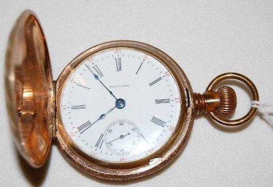 2: Waltham 15J, 18S, Ls, GF, DMK, HC Pocket Watch