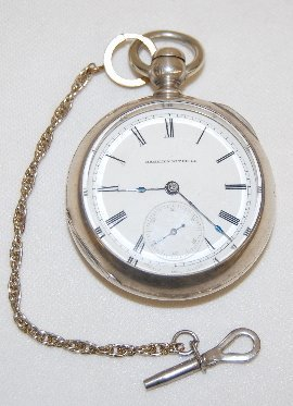 3: Hampden 11-15J, 18S, Woolworth Pocket Watch