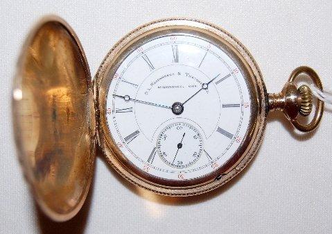 4: Hampden 17J, 18S, GF, HC Pocket Watch