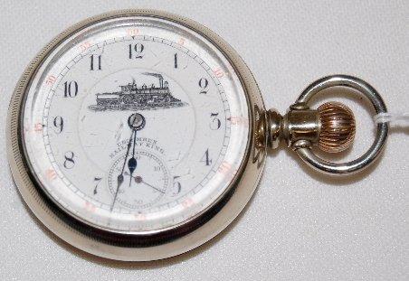 5: Columbus 16S, Railway King, 18S Pocket Watch