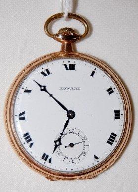 6: E. Howard 17J, 12S, GF, BRG, OF Pocket Watch