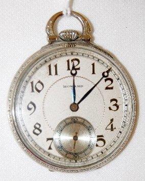 7: Howard 17J, 10S, GF, SW & S, OF Pocket Watch