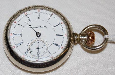 8: Hampden 17J, 18S, LS, DMK, OF Pocket Watch