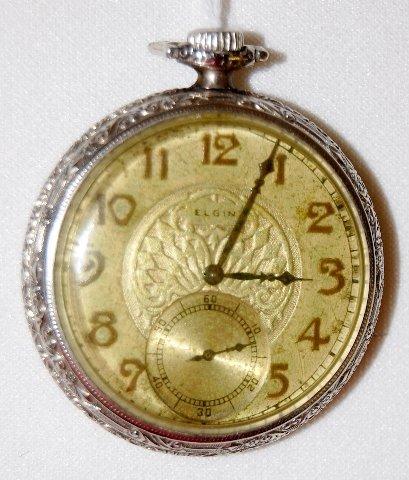 11: Elgin 15J, ILS, SW & S, GF, OF Pocket Watch