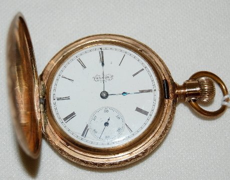 15: Elgin 7J, 10S, SW & S, GF, HC Pocket Watch