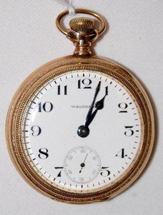 17: AWW Co. 19J, 16S, Riverside, OF Pocket Watch
