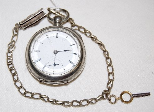 18: Excelsior Watch Co. 15J, 18S, OF Pocket Watch
