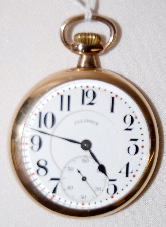 66: Illinois 706, 17J, 16S, LS, Brg, OF Pocket Watch