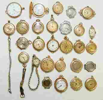 25 Ladies Pocket and Other Watches