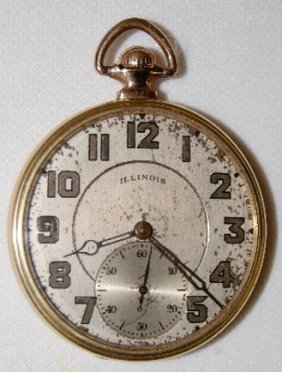 "Illinois ""The Autocrat"" 17J, OF Pocket Watch"