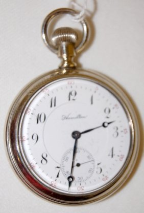Hamilton 952, 19J, 16S, MB, Display Pocket Watch