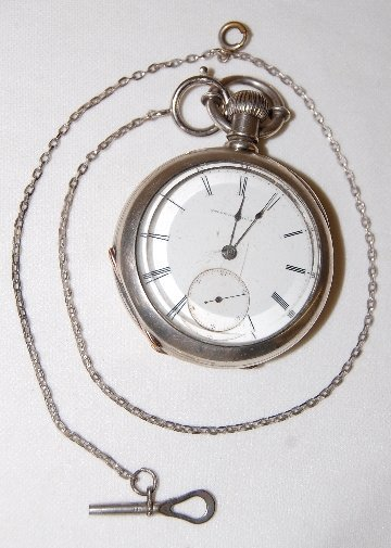 90: National Watch Co. 18S, H.H. Taylor Pocket Watch