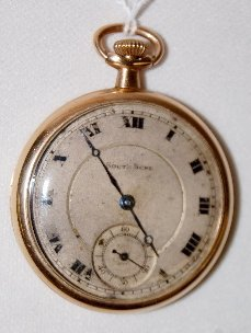 South Bend 429, 19J, 12S, SW & S, Pocket Watch