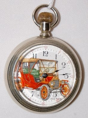98: Sterling 7J, 18S, SF & B, OF Pocket Watch