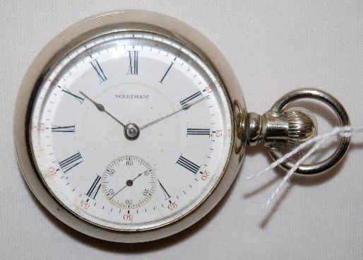 99: Am. Waltham 17J, 18S, LS, Full, OF Pocket Watch