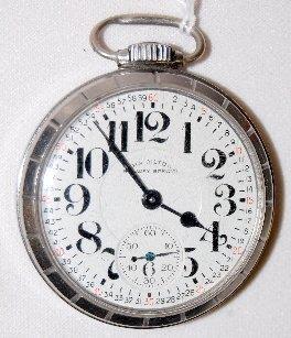 Hamilton 992B, RW Special, 21J, OF Pocket Watch