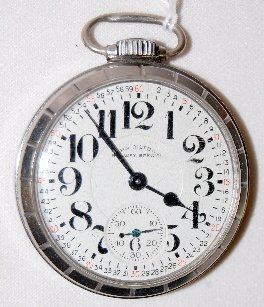 103: Hamilton 992B, RW Special, 21J, OF Pocket Watch