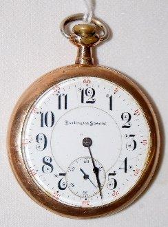 Burlington Special, 19J, 16S, OF Pocket Watch