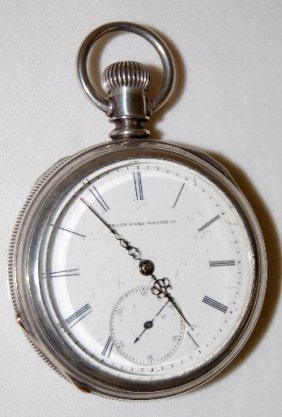 Elgin Nat'l 16S, M1, OF Coin Silver Pocket Watch