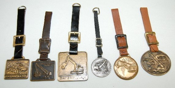 120: 6 Watch Fobs: All Heavy Equipment