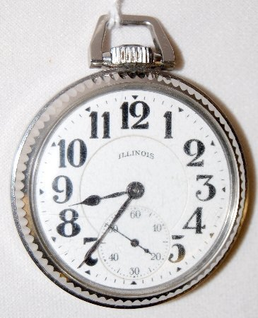 128: Illinois 60 Hour Bunn Special Pocket Watch