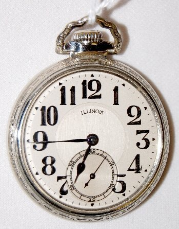 130: Illinois Bunn Special, 21J, 16S, OF Pocket Watch