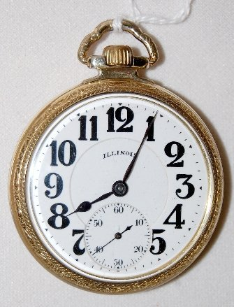 131: Illinois 21J, Bunn Special, 16S, OF Pocket Watch