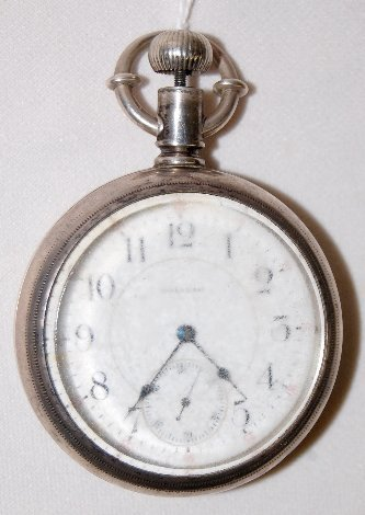 132: Waltham 21J, Crescent St. 18S, OF Pocket Watch