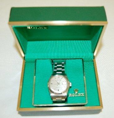 145: Rolex Oyster Perpetual DATEJUST Wrist Watch