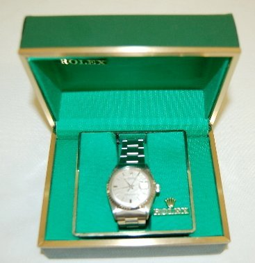 145: Rolex Oyster Perpetual DATEJUST Wrist Watch