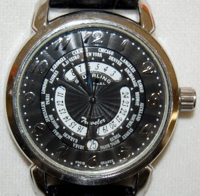 158: Sturhling Original Traveler Wrist Watch in Box - 2