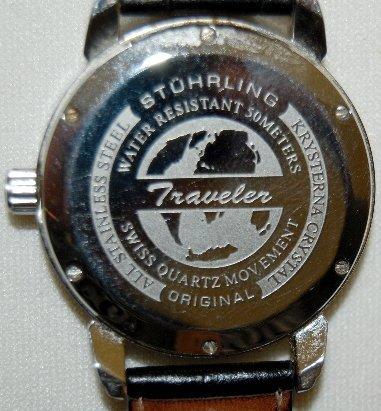 158: Sturhling Original Traveler Wrist Watch in Box - 3