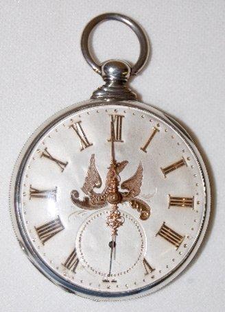 230: M.J. Tobias, Liverpool, Jeweled Pocket Watch