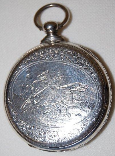 230: M.J. Tobias, Liverpool, Jeweled Pocket Watch  - 5