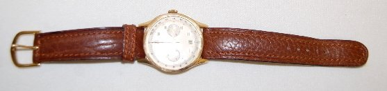 259: Angelus 18K Chronometer Wrist Watch