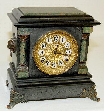 2: Seth Thomas Adamantine Small Mantel Clock