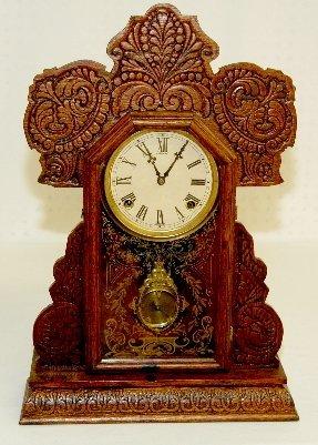 3: Sessions Antique Oak Kitchen Clock