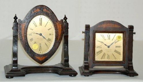 10: 2 Seth Thomas Deco Dresser Clocks