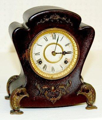 19: Waterbury # 26 Iron Mantel Clock
