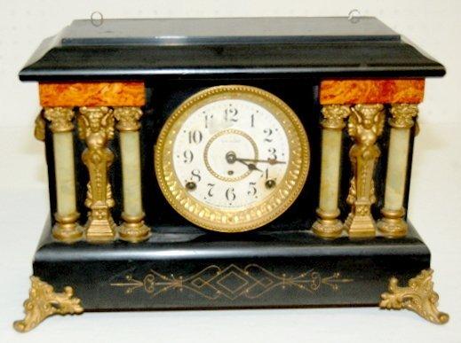 21: Fancy Seth Thomas Antique Mantel Clock