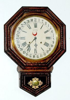 28: Ingraham Calendar Schoolhouse Clock