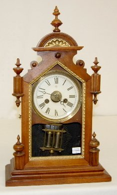 29: Junghans Wood Shelf Clock with Alarm