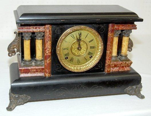 30: Sessions Fancy Antique Mantel Clock