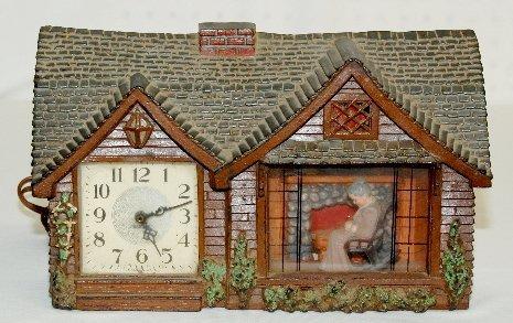 "36: Haddon ""Home Sweet Home"" Electric Clock"