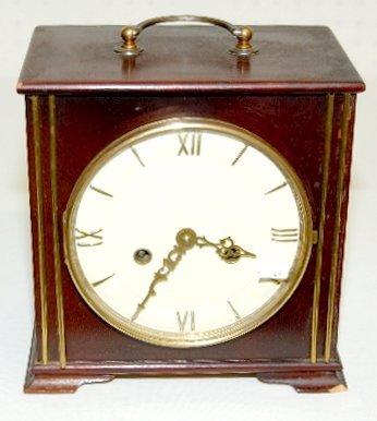 39: German 2J Chiming Mantel Clock