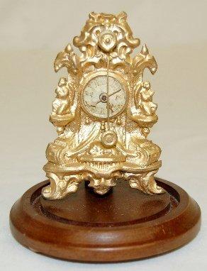 45A: 1800's Zapper Clock Under Dome