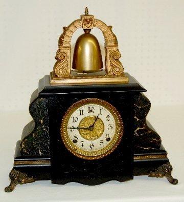 47: Gilbert Bell Top #36 Mantel Clock