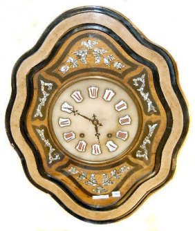 French M.O.P. Picture Frame Clock